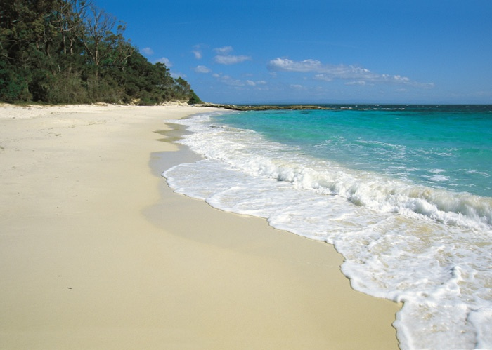 Jervis Bay, NSW - Christmas at the beach on some of the whitest sand in Australia, yes please!
