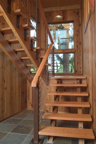 Alpine Residence - contemporary - staircase - portland - 2fORM Architecture