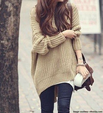 15 best Oversized Sweaters images on Pinterest | Oversized...