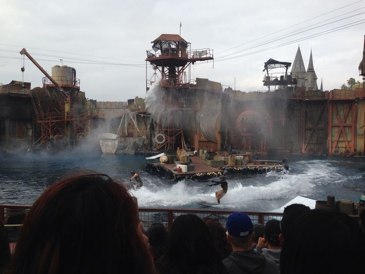 Universal Studio こっちではディズニーよりユニバーサルの方が施設内にストーリーがある。