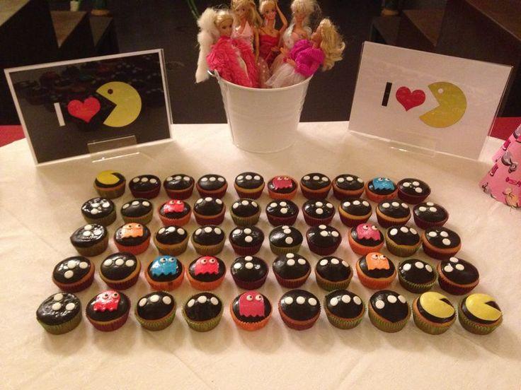 pacman_ cupcakes _love _80_ 80s_ compleanno_ festa a tema _isi eventi