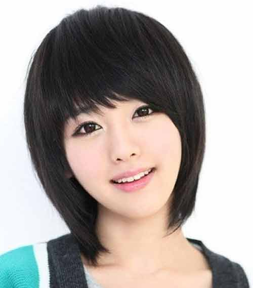 Perfect Awesome Asian Short Hairstyles With Bangs For Women   Stylendesigns.com!
