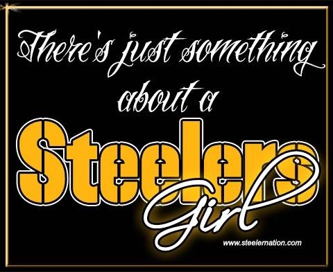 PITTSBURGH STEELERS girl 4 life... I ♥ my football!! It's a burgh thang ♥