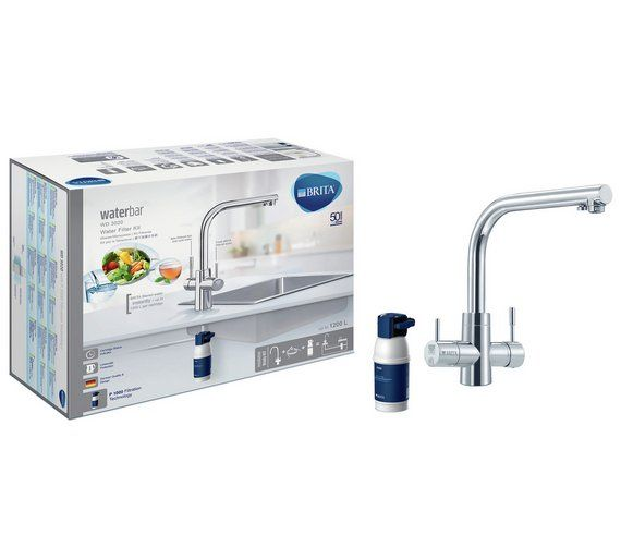 Buy BRITA Dolce Water Filter Tap - Chrome at Argos.co.uk, visit Argos.co.uk to shop online for Sinks and taps, Fitted kitchens, Home and garden