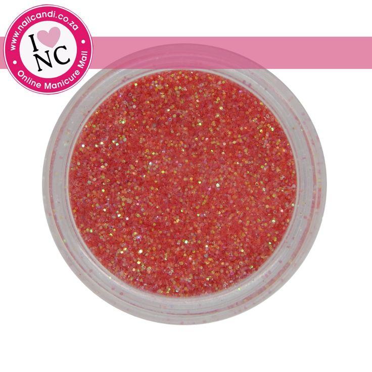 Nail art Glitter - Red