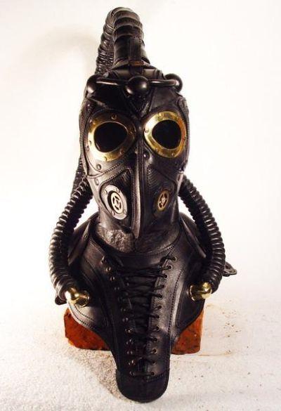 Steampunk Masks - Scorpion Breather | Walyou