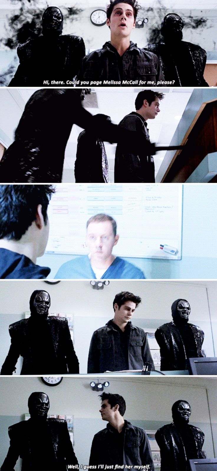 Teen Wolf - sarcastic nogitsune