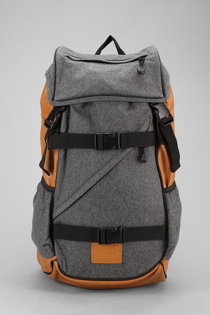 Flud Melton Tech Backpack #urbanoutfitters