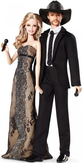 Faith Hill and Tim McGraw barbies. My fav country couple.
