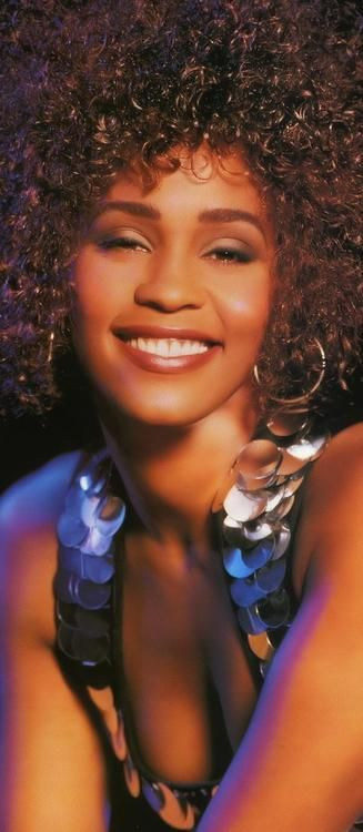 Whitney Houston's voice and smile