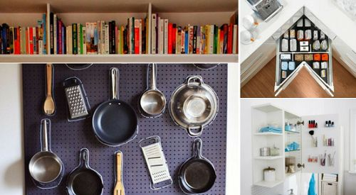 10 pomysłów na sprytne przechowywanie - idealnych do małych mieszkań i dla osób lubiących gromadzić różne przedmioty ;)