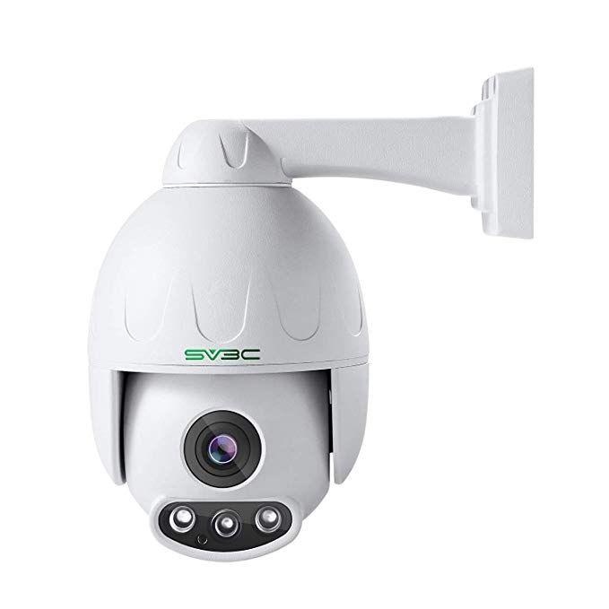 Sv3c 1080p Ptz Ip Poe Camera Security Outdoor Pan Tilt Zoom Optical 4x Motorized Speed Dome Prohd 165ft Night Vision Cmos Sensor Dome Camera Camera Supplies