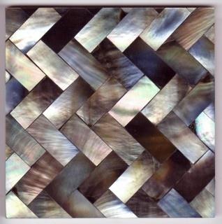 HOLY gorgeous tile. Grey Herringbone 10cm tile from Maybury Home.