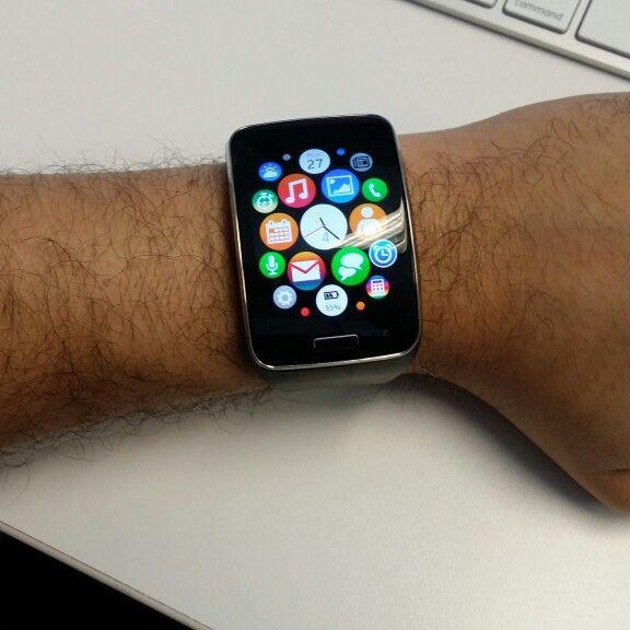 Hey! So I got the new #applewatch early...or did I???? Hmmm....  #samsunggears #smartwatch #wearable #like4like #likeforlike #followforfollow #follow4follow