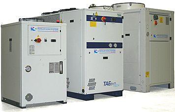 Kältemaschinen - Kälteanlagen - Kühlgeräte Kaltwassersatz - Freie Kühlung :: Rehsler Kühlsysteme