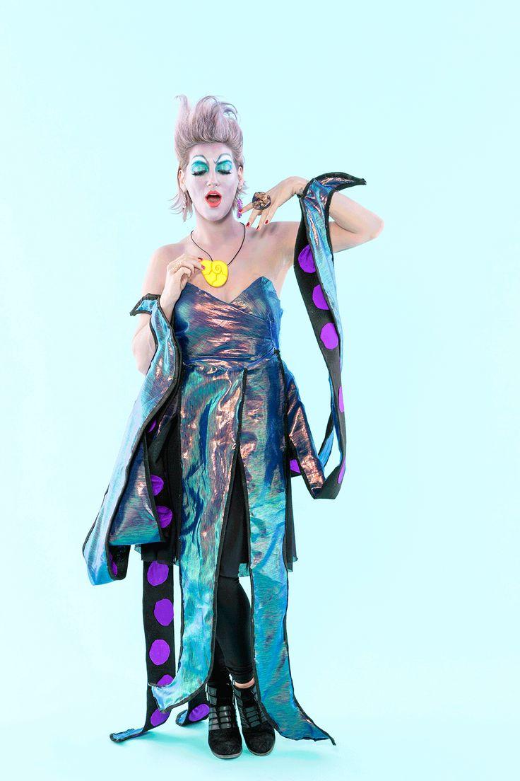 The 25 best diy ursula halloween costume ideas on pinterest love this little mermaid inspired diy ursula halloween costume solutioingenieria Images