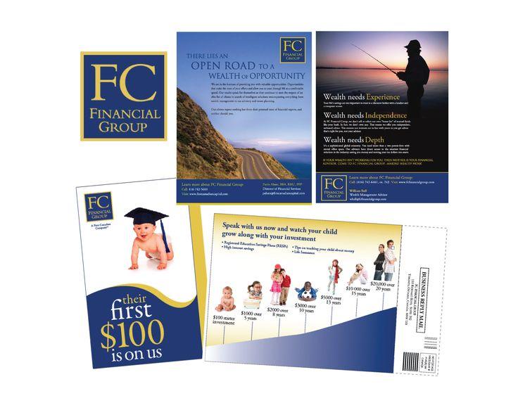 FC Financial Group Branding + Corporate Communications Design