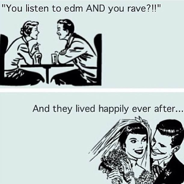 well i actually introduced Donnie into the whole edm Dallas scene and he's been hooked every since. <3 i told you that u would love it if u gave it a chance <3 nightlife <3 partyfun <3 rave together stay together <3 you and me <3