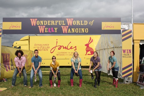 Welly Wanging at Jimmy's Farm Festival