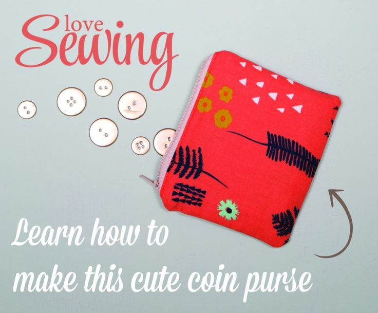 Sewing Tutorial - Coin Purse