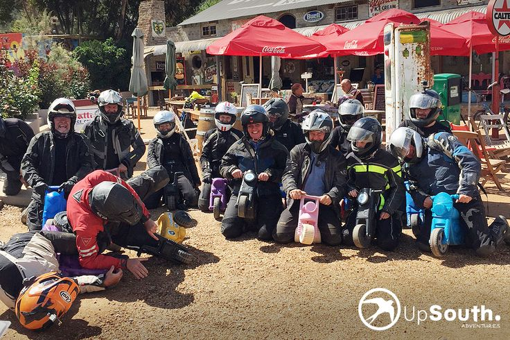 Enjoying the Bikes at Diesel & Creme! #route62 #southafrica #travel #motorbikes #gsriders www.upsouthadventures.com