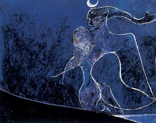 Osvaldo Licini painting