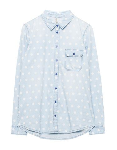 Pull & Bear polka dot jeans shirt
