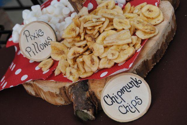 Granola DIY Bar at a Woodland Party #woodland #party