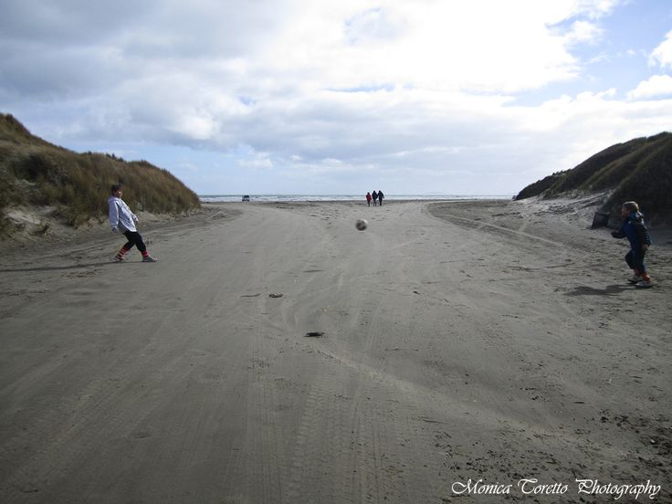 September 15, 2013.  There is always time for football and now thanks to another successful Clean Up, Oreti Beach is once again clean for young and old to enjoy. Well done Invercargill - just brilliant!!