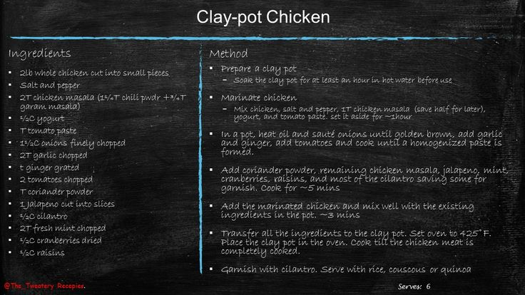 My recipe for Clay-pot chicken, inspired by Moroccan tagine
