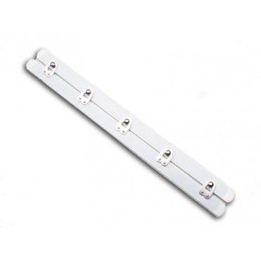 Белый Корсет Буск 5 застежками - 10 см в длину (25 мм в ширину) - Busks