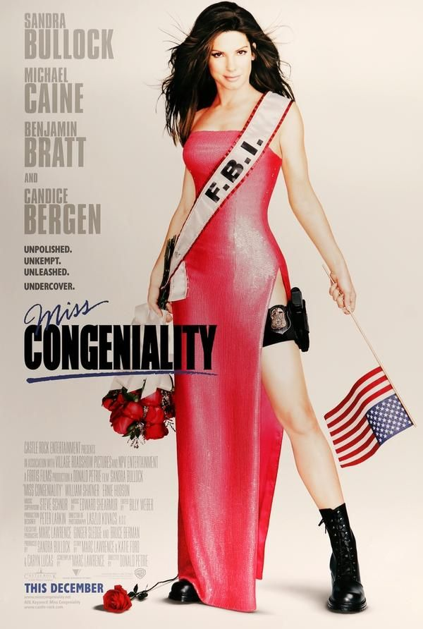 Miss Congeniality (2000) Original One-Sheet Movie Poster