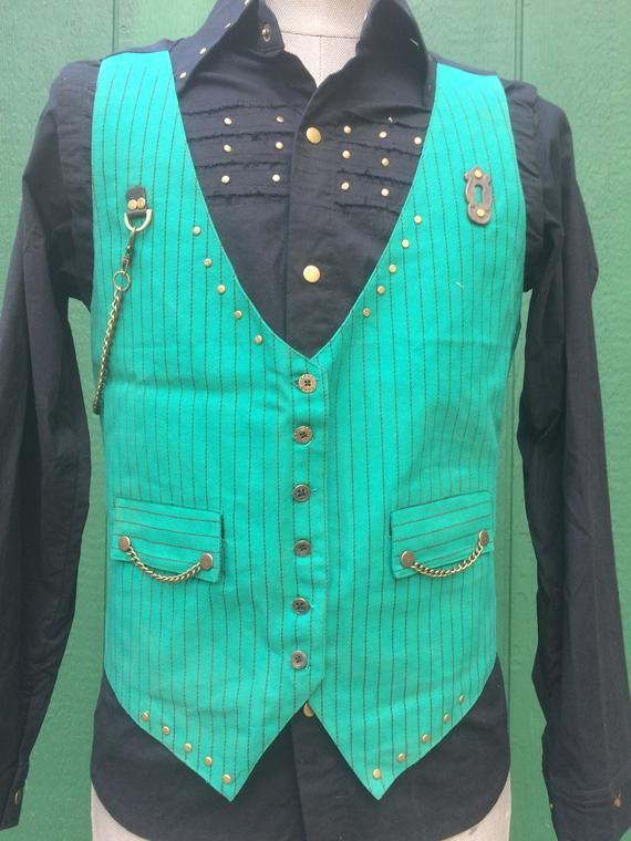 SALE Mens Dress Vest Medium Vest, Steampunk, Hipster, Burning Man, Vest for him, Festival Clothing Gift for boyfriend, Steezy Vest.  #fashion  #style  #clothes  #clothing  #mensfashion  #womensfashion  #accessoires  #gifts  #giftideas  #ootd  #picoftheday  #outfits