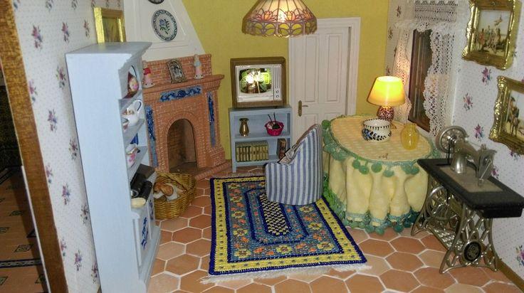 Casa popular Andaluza sala de estar