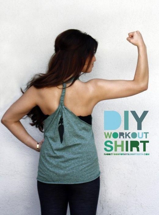 DIY Workout Top