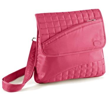 Lug Somersault Crossbody Bag - PINK