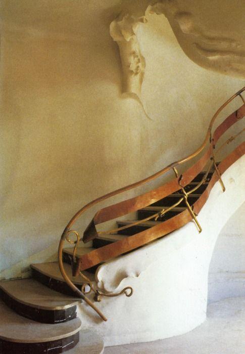 Josep Maria Jujol - Staircase - 1906 love:)