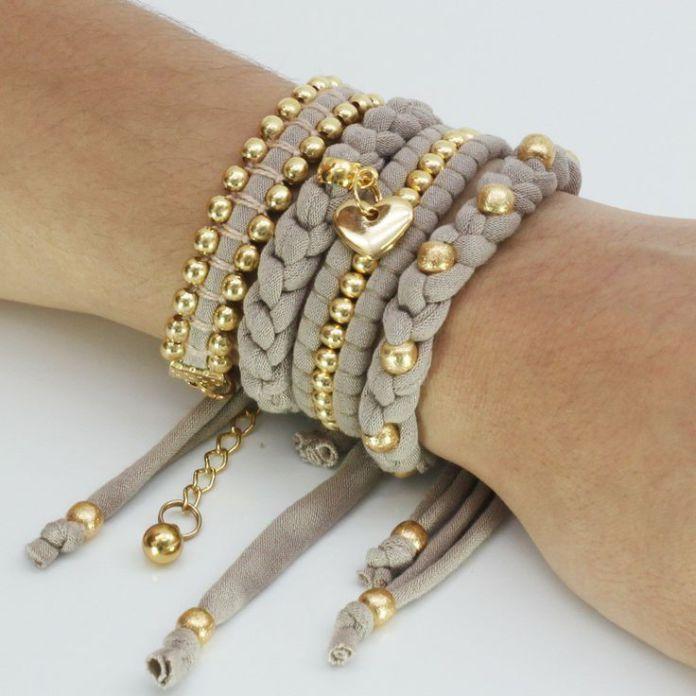DIY Jewelry: collares de trapillo  Buscar con Google