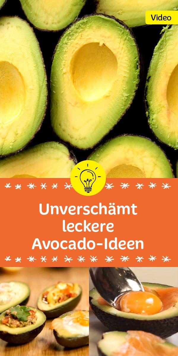 Die tollsten Ideen und Videos mit Avocados gibt's in dieser Sammlung
