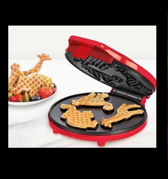 Awesome waffle invention. perfect for sleepovers with little friends