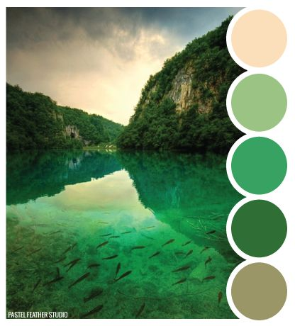 Pastel Feather Studio:   LAKE SCHEME - color palette    ►more find here: pastefeatherstudio.blogspot.com