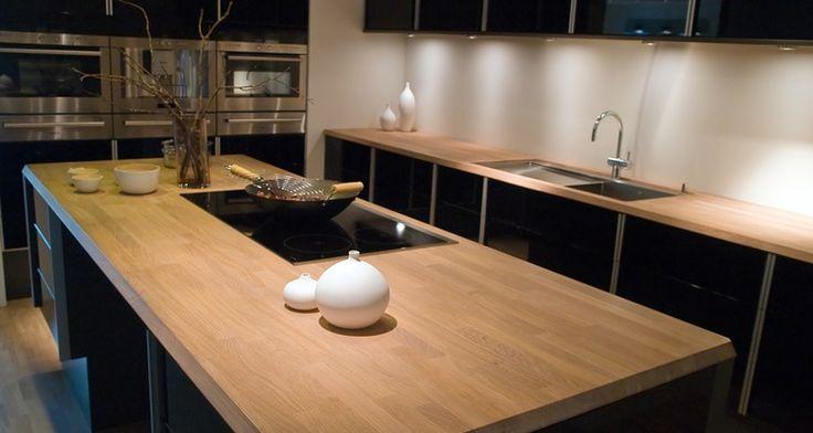 ber ideen zu massivholz arbeitsplatte auf pinterest k chen im landhausstil. Black Bedroom Furniture Sets. Home Design Ideas