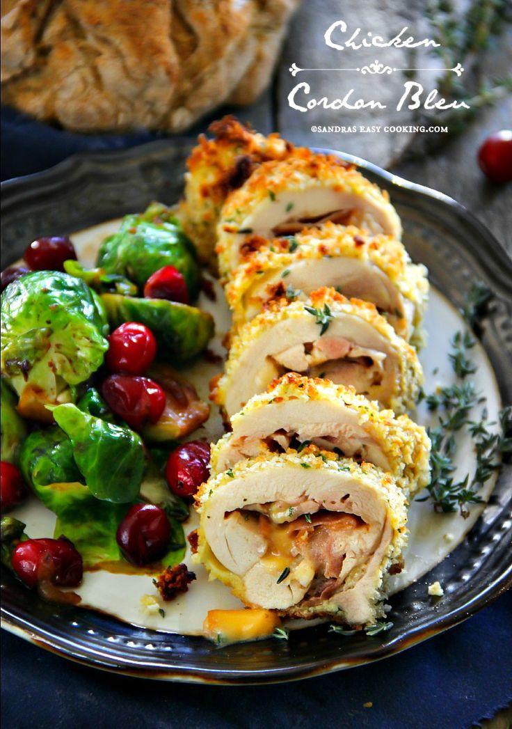 Chicken Cordon Bleu Recipe @Secooking