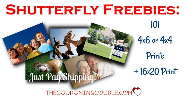 HOT FREEBIE! Get 101 FREE Photo Prints + a 16x20 Print from Shutterfly! Great for all those photos on your phone or computer, for scrapbooks, for sharing! GO NOW!  Click the link below to get all of the details ► http://www.thecouponingcouple.com/shutterfly-101-free-prints-just-pay-shipping/ #Coupons #Couponing #CouponCommunity  Visit us at http://www.thecouponingcouple.com for more great posts!