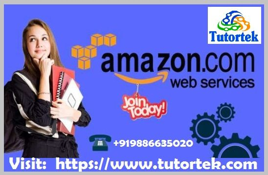 Tutortek Provides AWS Training in Bangalore conducting 40 Hrs. of intensive Amazon Web Services Training in Bangalore with 100% placement support.   Enroll Now.Call: +919886635020 Visit:- https://www.tutortek.com