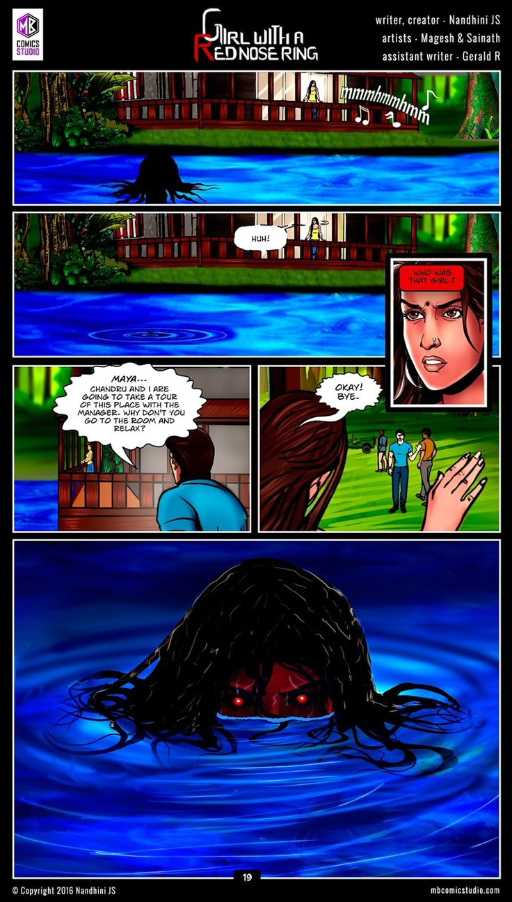 Page 19 - Nandhini's 'Girl with a Red Nose Ring' Comics. (read free comics online, romantic books by indian authors, romantic books for teenegers, horror books in english, best place to download comic books online, comic books for children, comics for children, comics for kids, comic books for kids, best site to download comics, comic books download pdf, graphic novels for adults, graphic novels for children, graphic novels and comics, indian comic books, comic books india, webcomics