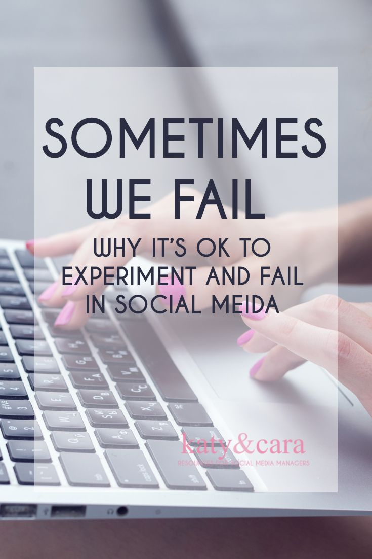SOMTIMES WE FAIL