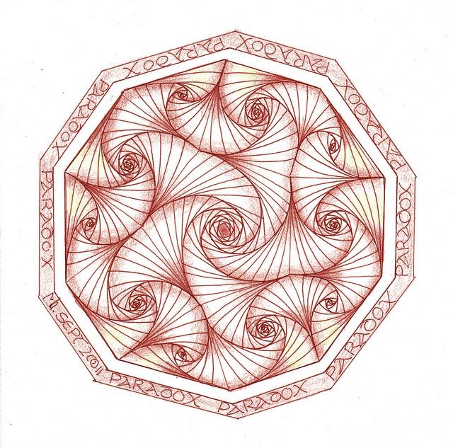 Paradox by Mariët Dronten, via Flickr: Photos, Photo Studio, Paradox, Art Doodles Tangles Sketches, Doodles Tangles Such, Zentangle Doodles, Doodles Zentangles, Zentangle Mandala