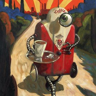 """""""Coffeebot"""". This one is from some years ago and it actually won me an…"""