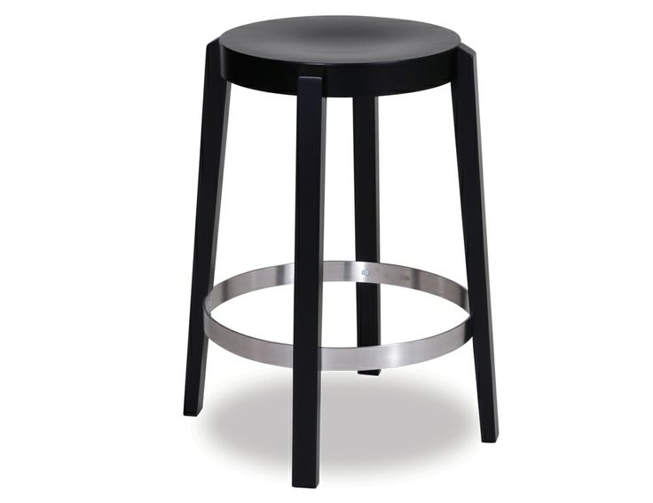 Black Punton Kitchen Stool